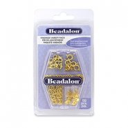 Beadalon Findings Variety Pack Gold