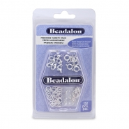 Beadalon Findings Variety Pack Silver