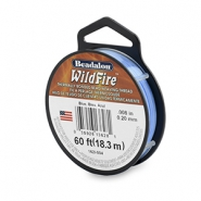 Beadalon Wildfire wire 0,20mm niebieski