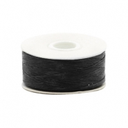 Beadalon Nymo wire 0,3mm czarny