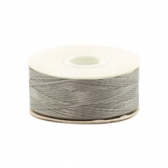 Beadalon Nymo wire 0,3mm szary