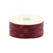 Beadalon Nymo Wire 0.3mm Burgundy Red