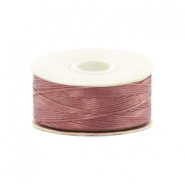 Beadalon Nymo wire 0,3mm mauve pył