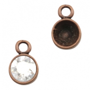 Findings TQ metal setting 1 loop for Chaton SS39 Copper (Nickel Free)