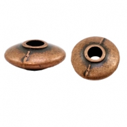 Beads TQ metal disc 20mm Copper (Nickel Free)