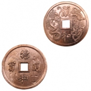 Charms TQ metal Chinese lucky coin 50mm Copper (Nickel Free)