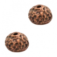 Beads TQ metal beadcap Copper (Nickel Free)