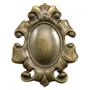 Findings DQ metal Baroque style Antique Bronze (Nickel Free)