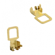 Findings TQ metal setting/clip Gold (Nickel Free)