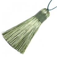 Tassels 5.5cm Multicolour Green