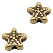 DQ European metal beads seastar Antique Bronze (nickel free)