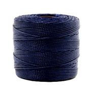 Nylon S-Lon cord 0.6mm Dark Navy Blue