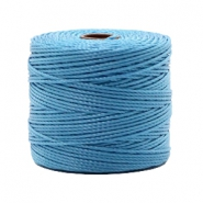 Nylon S-Lon cord 0.6mm Caroline Blue
