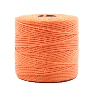 Nylon S-Lon cord 0.6mm Peach Orange