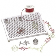 Artistic Wire Tools Deluxe Jig Kit Silver