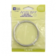 16 Gauge Artistic Wire Stainless Steel