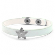 Ready-made bracelets stud star Pastel Turquoise Green