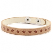 Ready-made bracelets stars Light Brown
