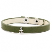 Ready-made bracelets stud anchor Dark Green