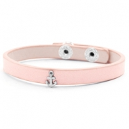 Ready-made bracelets stud anchor Light Blush Pink