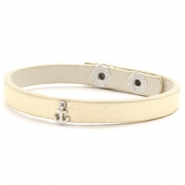 Ready-made bracelets stud anchor Soft Yellow Gold