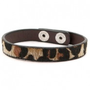 Ready-made bracelets leopard Brown
