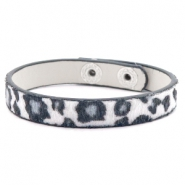Ready-made bracelets leopard White