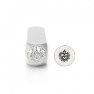 ImpressArt design stamps Sacred Heart 6mm Silver