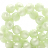 Super Polaris beads round 6 mm Relaxing green