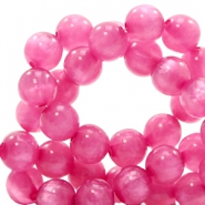 Polaris beads round 8 mm pearl shine Peonia Purple