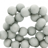 8 mm acrylic beads Mineral Grey