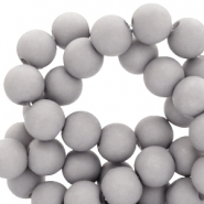8 mm acrylic beads Timeless Grey
