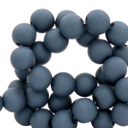 6 mm acrylic beads Peacoat Blue