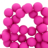 8 mm acrylic beads Orchid Purple