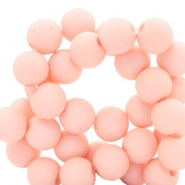 6 mm acrylic beads Hermosa Pink