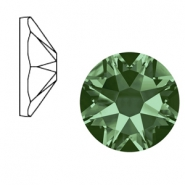 Swarovski Elements 2088-SS 34 flat back (7mm)  Xirius Rose Erinite green