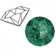 Swarovski Elements 1088-SS 29 chaton ( 6.2mm) Emerald Green