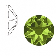 Swarovski Elements 2088-SS 34 flat back (7mm)  Xirius Rose Olivine Green