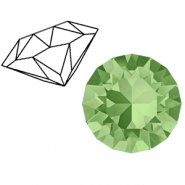 Swarovski Elements 1088-SS 29 chaton ( 6.2mm) Peridot Green