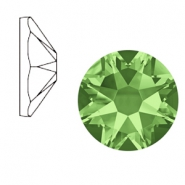 Swarovski Elements 2088-SS 34 flat back (7mm)  Xirius Rose Peridot Green