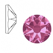 Swarovski Elements 2088-SS 34 flat back (7mm)  Xirius Rose Rose