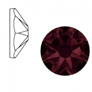 Swarovski Elements 2088-SS 34 flat back (7mm)  Xirius Rose Burgundy Red