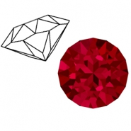 Swarovski Elements 1088-SS 39 chaton ( 8mm) Scarlet Red