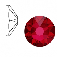 Swarovski Elements 2088-SS 34 flat back (7mm)  Xirius Rose Scarlet Red