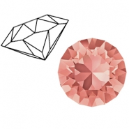 Swarovski Elements 1088-SS 39 chaton ( 8mm) Rose Peach