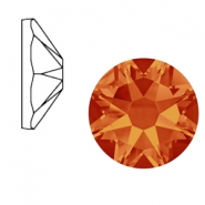 Swarovski Elements 2088-SS 34 flat back (7mm)  Xirius Rose Fire Opal Orange