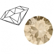 Swarovski Elements 1088-SS 29 chaton ( 6.2mm) Light Silk Beige