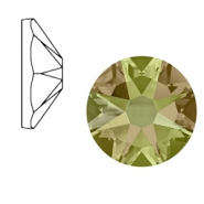 Swarovski Elements 2088-SS 34 flat back (7mm)  Xirius Rose Crystal Luminous Green