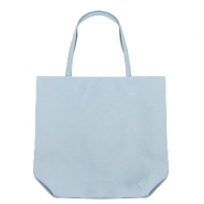 Fashion shopper bag Light Blue Grey