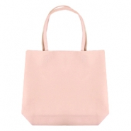 Fashion shopper bag Light Pink
